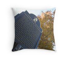 Dixon, IL Throw Pillow