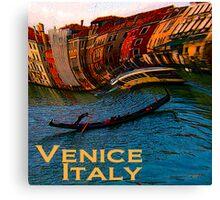 Wacky Venice, Italy Print Canvas Print