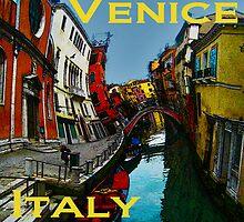 Wacky Venice, Italy II by Ginny Luttrell