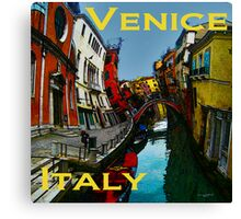 Wacky Venice, Italy II Canvas Print