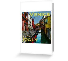 Wacky Venice, Italy II Greeting Card