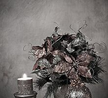 Christmas - Holiday Decoration (No Color) by Sherry Hallemeier