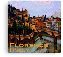 Wacky Florence, Italy Canvas Print
