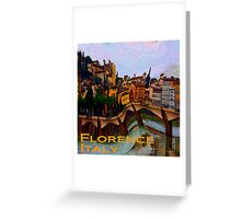 Wacky Florence, Italy Greeting Card