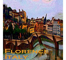 Wacky Florence, Italy Photographic Print