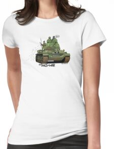The Dogs of War: T34 Womens Fitted T-Shirt