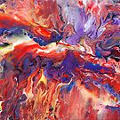 Abstract Fluid Painting 38 by markchadwick