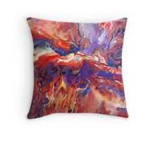 Abstract Fluid Painting 38 Throw Pillow