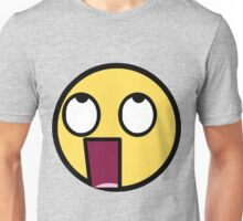 Awesome Face Epic Smiley WTF? Unisex T-Shirt