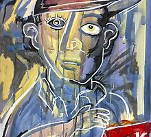Art Critic (Archibald Pries) by Matthew K