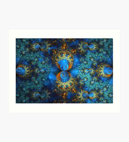 Spherical - Soft Lights Art Print