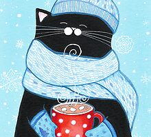 First Snowfall Cocoa by Annya Kai