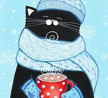 First Snowfall Cocoa by Annya Kai