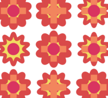 Flower T-shirt Sticker