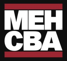 MEH CBA (white) by cubik