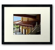 Roof Top at the Temple Framed Print