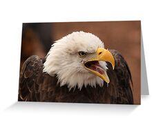 Screaming Eagle Greeting Card