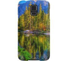 Reflections on the Merced river, Yosemite National Park Samsung Galaxy Case/Skin