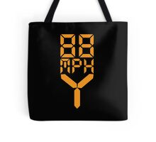 88 MPH The Speed of Time travel Tote Bag