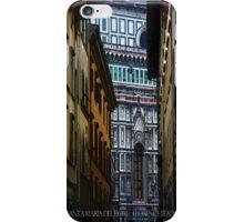 Santa Maria Del Flore Florence, Italy iPhone Case/Skin