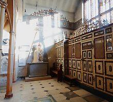 Kedermister Chapel, Langley Marish by Dave Godden