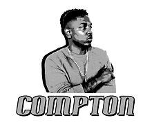 Compton Kendrick Lamar Photographic Print