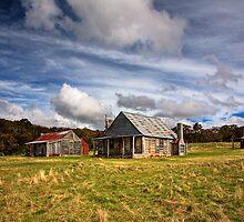 Coolamine Homestead, Kosciuszko National Park by Richard  Windeyer