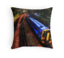 The 16:04 from Haymarket Station Throw Pillow