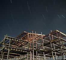 Night Construction by Zach Pezzillo