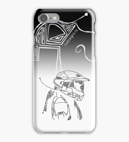 Master Chief DotLine iPhone Case/Skin