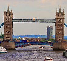 London Bridge by leedgreen