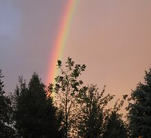 Rainbow Skyline by JDew12345