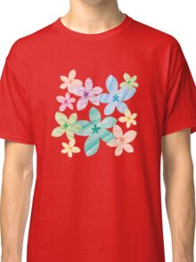 Overlapping Flowers Classic T-Shirt