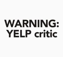 Warning Yelp Critic shirt – South Park, Eric Cartman by fandemonium
