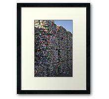 City of Bottles Framed Print