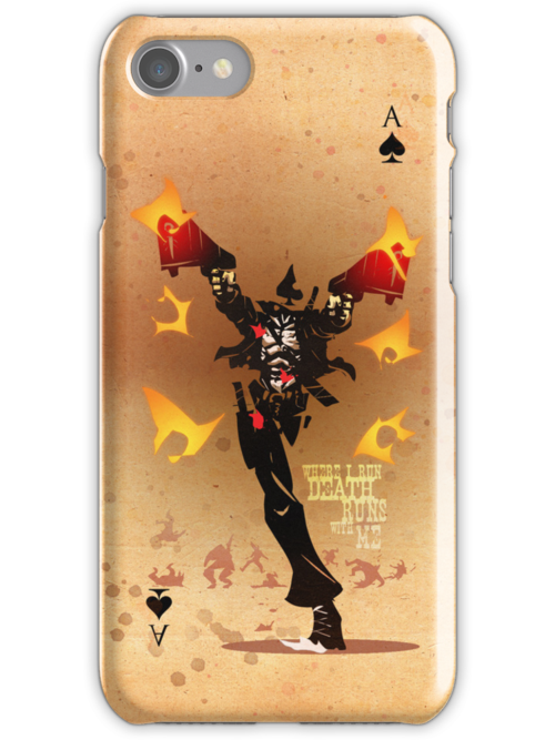 Full Deck - The Ace of Spades by Simon Sherry