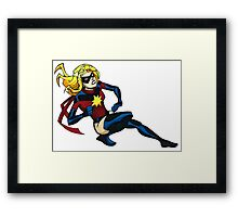 Earth's Mightiest Hero Framed Print