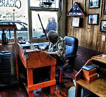 The Cigar Maker, Ybor City by James Watkins