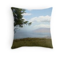 Breathtaking Maui View Throw Pillow