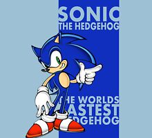 The Worlds Fastest Hedgehog Unisex T-Shirt