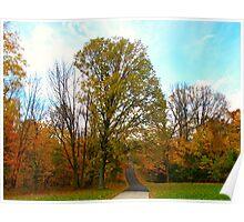 Brilliantine Autumn Poster