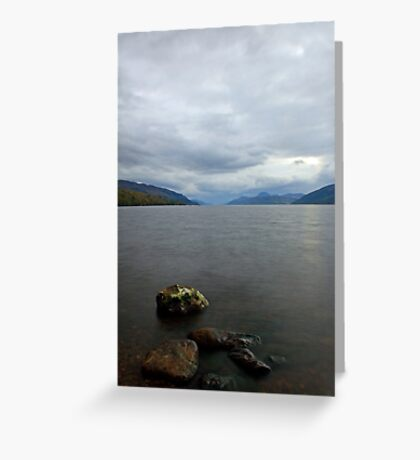 Peaceful Loch Ness Greeting Card