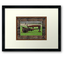 Ashes to Ashes - Rust to Rust Framed Print