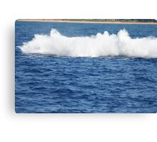 Humpback Breaching - 3 of 3 Canvas Print
