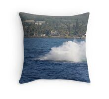 Humpback Breach 3 of 3 Throw Pillow