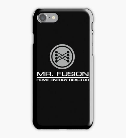 Mr Fusion Home Energy Reactor iPhone Case/Skin