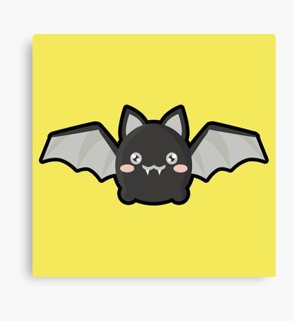 Kawaii Bat Canvas Print