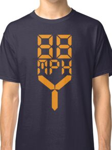 88 MPH The Speed of Time travel Classic T-Shirt