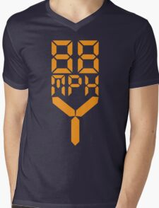 88 MPH The Speed of Time travel Mens V-Neck T-Shirt