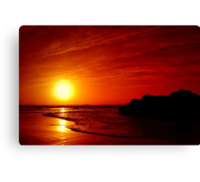 ..~RED SKY AT NIGHT~ Canvas Print